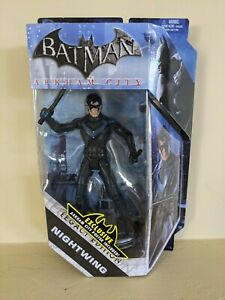 NIGHTWING Action Figure Legacy Edition Batman Arkham DC Collector Toy & Poster