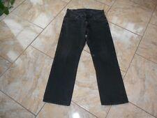 H7939 Lee Ranger Jeans W36 L30 Schwarz Unifarben Sehr gut