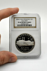 2006 S $1 San Francisco Old Mint Commemorative Silver Dollar NGC PF69 Ultra Cam