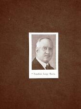 Deputato d'Italia nel 1924 Onorevole Foschini Luigi Maria e Salandra Antonio