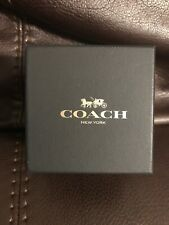 Coach Empty Black/Gold Box 3'' X 3.5'' X 3''