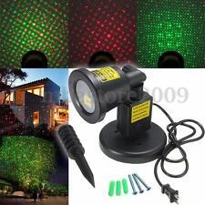 R&G Waterproof Landscape Garden Projector LED Moving Laser Xmas Stage Light Lamp