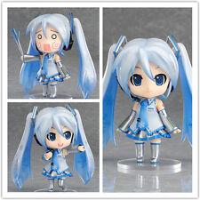 "Anime VOCALOID Hatsune Miku Project Diva Snow Miku 4"" Action Figure Model Gift"