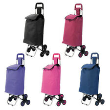Carro De Compra de 3 ruedas BZ4757 bolsa de tela cesta mercado envio 24/48 horas