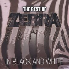 ZEBRA - Best Of Zebra: In Black And White - CD - Best Of - *Excellent Condition*