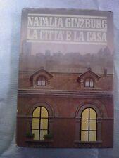LIBRO NATALIA GINZBUG - LA CITTÀ E LA CASA - CLUB DEGLI EDITORI 1985