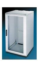 21U 400mm deep wall mount cabinet rack Glass door W/lock Beige(light gray) color