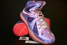 DS New Nike Lebron X 10 AS All Star Area 72 Size 8 Extraterrestial Galaxy ASG