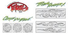 Artool Aerógrafo Plantillas-Steve vandemon's Tribal Master Set