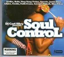 (DM222) DJ Carl Alley presents Soul control - 2006 sealed double CD