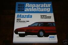 Reparaturanleitung Mazda 323 / 323 F (Typ BG) ab Bj. 1989
