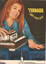 PUBLICITE 1970 TORNADO aspire à vous servir