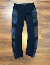 rag & bone Moto Leather Pant in Black Size 2