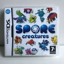 NINTENDO DS SPORE CREATURES 100% COMPLETE WITH BOOKLET