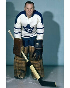 Johnny Bower - Maple Leafs - 8x10 Color Photo