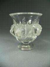Lalique France Glas Vase Pokal  Damphierre Vögel Kristall Glas Frankreich