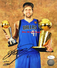 Dirk Nowitzki  NBA Dallas Mavericks autographed 8x10 photo RP