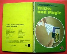 Learnabout Tricks And Magic Ladybird vintage book cards illusions conjuring
