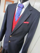 Charles Tyrwhitt Jermyn St Navy Boating Sailing Jacket Blazer UK 42 LONG EU 52L