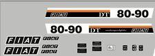 Serie Decalcomania-Adesivi Per trattore Fiat 80-90DT....