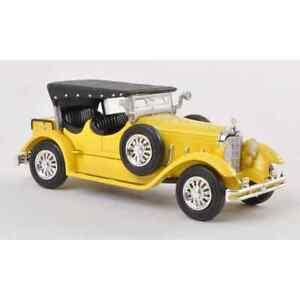 Ricko 38478 1/87 H0 Mercedes 630K Yellow Of 1927 Car Miniature Ho