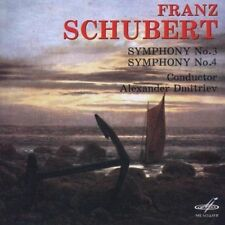SYMPHONY NO.3 & 4 NEW CD