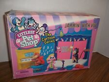 Vintage Kenner 1995 Littlest Pet Shop Cartoon Series Jammin' with Viv BOX ONLY