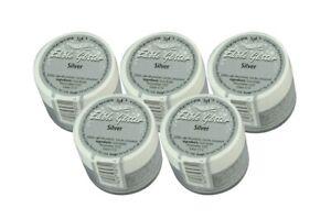 MHD Okt. 2020: Rainbowdust Edible Glitter Silver essbarer Glitzer Silber 5x5g