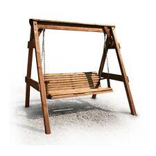 Hollywoodschaukel aus Holz Gartenmöbel Gartenbank NEU TOP Ware TOP PREIS Neu