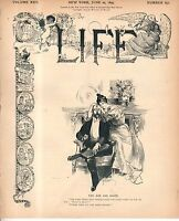 1895 Life June 20 - Jewish women like dollar sign fabric;Women's rights; Bicycle