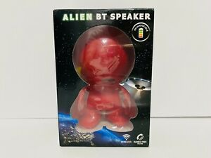 Alien BT Bluetooth Speaker Red Wireless Portable Supersonic Rechargeable