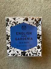 THE BODY SHOP ENGLISH DAWN GARDENIA EAU DE TOILETTE NEW SEALED