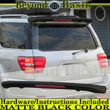 For 2001-2007 Toyota Sequoia MATTE BLACK Factory Style Spoiler Roof Wing w/LED