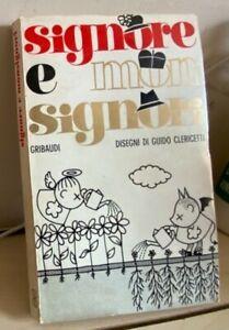 SIGNORE E MONSIGNORI Clericetti Bergadano 1968 GRIBAUDI