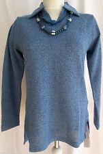 Langarm Damen-Pullover & -Strickware mit Polokragen ohne Muster