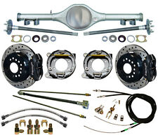 CURRIE 67-69 STAG SHOCK F-BODY MULTI-LEAF REAR END & WILWOOD DISC BRAKES,DRILLED