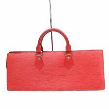 Auténtico Louis Vuitton Bolso de Mano Sac Triángulo M52097 Rojos Epi 301431