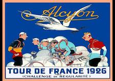1926 LE TOUR DE FRANCE BICYCLE RACE VINTAGE REPRO TRAVEL AD ART PRINT POSTER