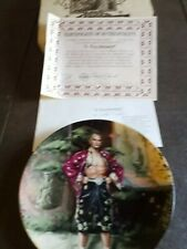 """A Puzzlement Collectors Plate """"The King & I"""" Series By William Chambers Plate #"""