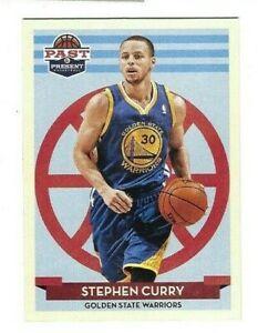 STEPHEN CURRY 2012-13 Panini Past & Present #144 Basketball Card