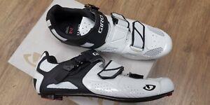 GIRO Apeckx II Easton EC90 carbon sole road bicycle shoes EU 44 US 10.5 NEW