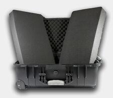 """22"""" Hard Shell Rolling Case For Guns DSLR W/Pelican 1560 Style Pluck Foam NEW"""