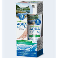 Aqua Fußcreme mit Avocadöl Aloe Vera Hafermilch  45ml Fußpflege