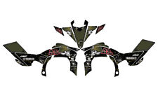 Yamaha YFZ 450R 450X 09-13 graphic decal kit stickers 450r 2009 to 2013 racing