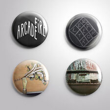 4 ARCADE FIRE - Pinbacks Badge Button 25mm 1''