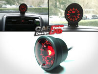 52mm AutoGauge Meter Dual Color LED WHITE/AMBER RED Clock Time Analog