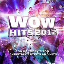 WOW Hits 2012 by Various Artists (CD, Sep-2011, 2 Discs, Wow Gospel Hits) NEW!