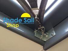 250 x 250 mm Corner Bracket  Internal STAINLESS STEEL DIY Shade sail accessories