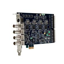 Osprey 460e PCIe 4-channel Capture Card with breakout stereo audio cables