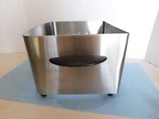 Farberware 4L Deep Fryer Stainless Steel, parts, Stainless outer housing.
